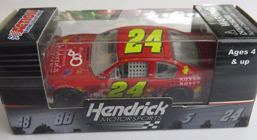 2011 Jeff Gordon NASCAR Diecast 24 Foundation Red Rover CWC 1:64 Lionel Action ARC 1
