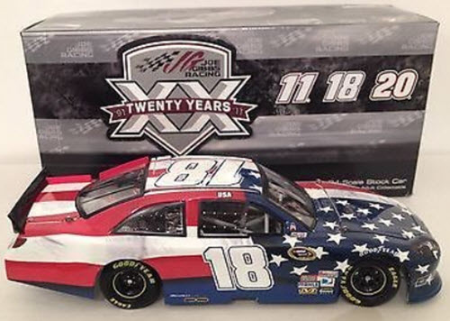 2011 Kyle Busch NASCAR Diecast 18 Honoring Our Heroes Red White Blue 9 11 Tribute CWC 1:24 Action ARC 1