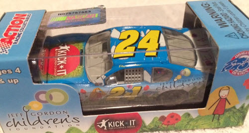 2012 Jeff Gordon NASCAR Diecast 24 Foundation Kick It CWC 1:64 Lionel Action ARC 1
