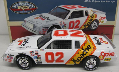 2012 Mark Martin NASCAR Diecast 02 Apache Stove 1982 Buick CWC 1:24 Lionel Action ARC Classics 1
