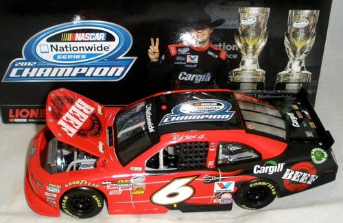 2012 Ricky Stenhouse NASCAR Diecast 6 Cargill Beef Nationwide Champ Champion CWC 1:24 Lionel Action ARC 1
