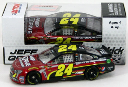 2013 Jeff Gordon NASCAR Diecast 24 AARP DTEH Drive to End Hunger CWC 1:64 Lionel Action ARC 1