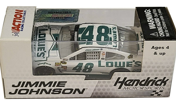 2013 Jimmie Johnson NASCAR Diecast 48 Lowes Emerald Green CWC 1:64 Lionel Action ARC 1