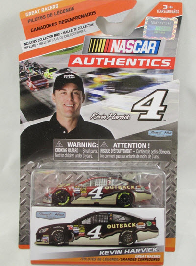 2014 Kevin Harvick NASCAR Diecast 4 Outback Steakhouse CWC 1:64 NASCAR Authentics Great Racers 1