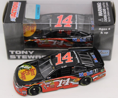 2015 Tony Stewart NASCAR Diecast 14 Bass Pro CWC 1:64 Action ARC 1