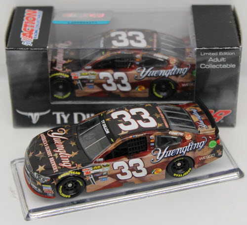 2015 Ty Dillon NASCAR Diecast 33 Yuengling American Salute CWC 1:64 Lionel Action ARC 1