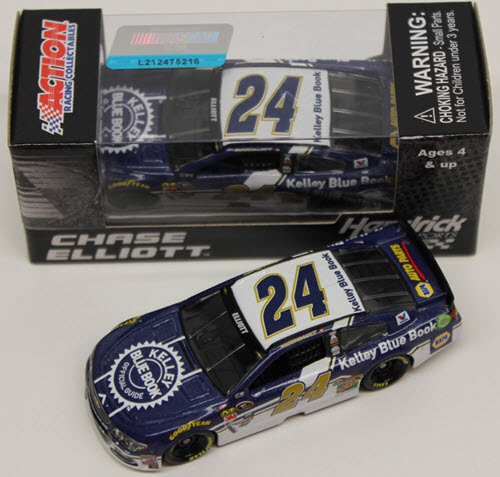 2016 Chase Elliott NASCAR Diecast 24 KBB Kelley Blue Book CWC 1:64 Lionel Action ARC 1