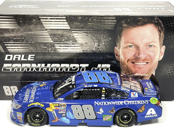 2016 Dale Earnhardt Jr NASCAR Diecast 88 Nationwide Insurance Childrens Hospital 1:24 CWC Lionel Action ARC 1