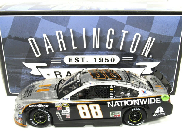 2016 Dale Earnhardt Jr NASCAR Diecast 88 Nationwide Insurance Darlington Throwback Gray Ghost 1:24 CWC Lionel Action ARC 1