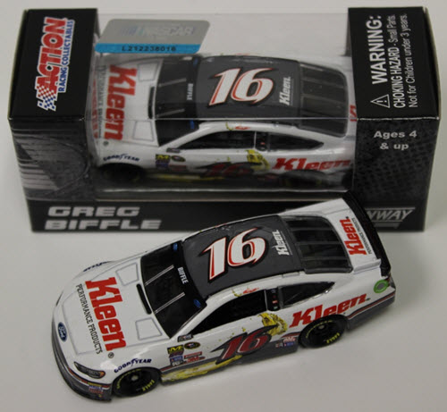 2016 Greg Biffle NASCAR Diecast 16 Kleen Performance Products CWC 1:64 Lionel Action ARC 1