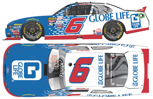 2017 Bubba Wallace NASCAR Diecast 6 Globe Life CWC 1:64 Lionel Action ARC 99