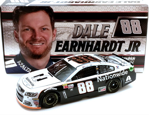 2017 Dale Earnhardt Jr NASCAR Diecast 88 Nationwide Gray Ghost 1:24 CWC Lionel Action ARC 1