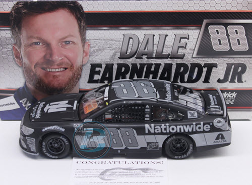 2017 Dale Earnhardt Jr NASCAR Diecast 88 Nationwide Insurance 1:24 CWC Lionel Action ARC Stealth Autographed 1