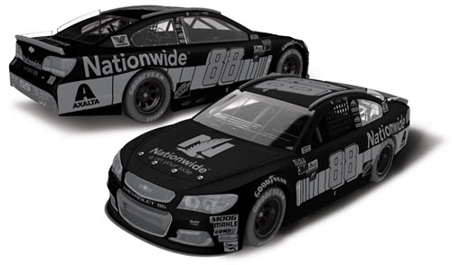 2017 Dale Earnhardt Jr NASCAR Diecast 88 Nationwide Insurance 1:24 CWC Lionel Action RCCA Elite Ghost 99