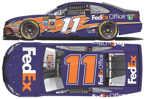 2017 Denny Hamlin NASCAR Diecast 11 FedEx Office CWC 1:24 Lionel Action ARC 99