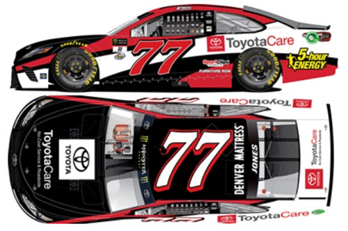 2017 Erik Jones NASCAR Diecast 77 ToyotaCare Toyota Care CWC 1:24 Lionel Action ARC 99