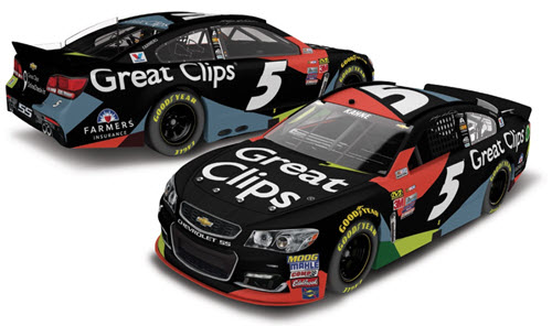 2017 Kasey Kahne NASCAR Diecast 5 Great Clips CWC 1:64 Lionel Action ARC 99