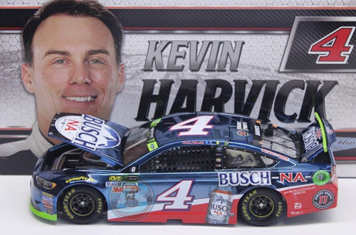 2017 Kevin Harvick NASCAR Diecast 4 Busch NA CWC 1:24 Lionel Action ARC Color Chrome 1b
