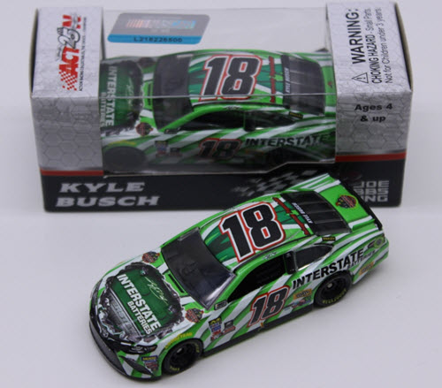 2017 Kyle Busch NASCAR Diecast 18 Interstate Batteries CWC 1:64 Lionel Action ARC 1