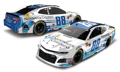 2018 Alex Bowman NASCAR Diecast 88 Nationwide Childrens Hospital CWC 1:24 Lionel Action ARC Color Chrome 98