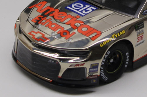 2018 Austin Dillon NASCAR Diecast 3 E15 American Ethanol Darlington Throwback Retro CWC 1:24 Lionel Action ARC Color Chrome 4