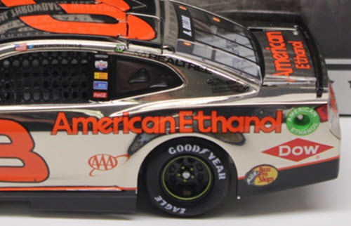 2018 Austin Dillon NASCAR Diecast 3 E15 American Ethanol Darlington Throwback Retro CWC 1:24 Lionel Action ARC Color Chrome 5