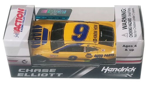 2018 Chase Elliott NASCAR Diecast 9 NAPA Darlington Throwback CWC 1:64 Lionel Action ARC 2