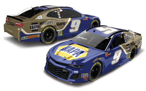 2018 Chase Elliott NASCAR Diecast 9 NAPA NightVision Night Vision Lamps CWC 1:24 Lionel Action RCCA Elite 99