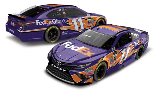 2018 Denny Hamlin NASCAR Diecast 11 FedEx Office CWC 1:24 Lionel Action ARC Elite 99