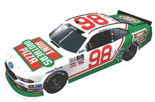 2018 Kevin Harvick NASCAR Diecast 98 Hunt Brothers Pizza Darlington Retro Throwback CWC 1:24 Lionel Action ARC Color Chrome 99