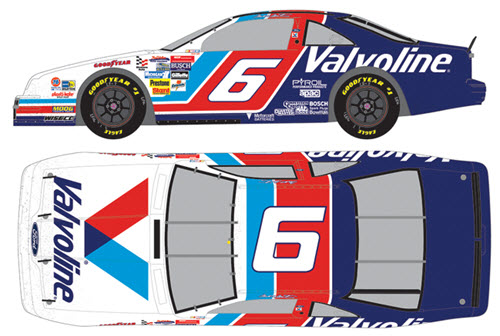 2018 Mark Martin NASCAR Diecast 6 Valvoline 1993 Darlington Win Raced Version CWC 1:64 Lionel Action ARC 99