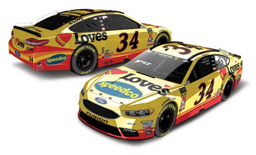 2018 Michael McDowell NASCAR Diecast 43 Loves Speedco 1:24 CWC Lionel Action ARC Color Chrome 98