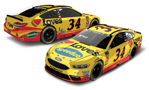 2018 Michael McDowell NASCAR Diecast 43 Loves Speedco 1:24 CWC Lionel Action RCCA Elite 98