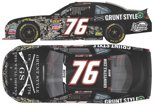 2018 Spencer Boyd NASCAR Diecast 76 Grunt Style CWC 1:64 Lionel Action ARC 99