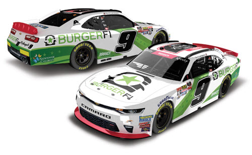 2018 Tyler Reddick NASCAR Diecast 9 Burgerfi Xfinity Champ Champion CWC 1:24 Lionel Action ARC Color Chrome 99