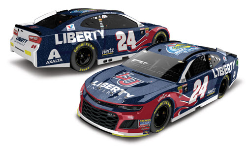 2018 William Byron NASCAR Diecast 24 Liberty University Sunoco Rookie Of The Year ROTY CWC 1:24 Lionel Action ARC Galaxy 99