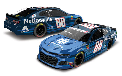 2019 Alex Bowman NASCAR Diecast 88 Nationwide Patriotic CWC 1:64 Lionel Action ARC 99