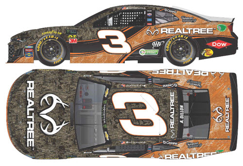 2019 Austin Dillon NASCAR Diecast 3 Realtree Real Tree CWC 1:64 Lionel Action ARC 99
