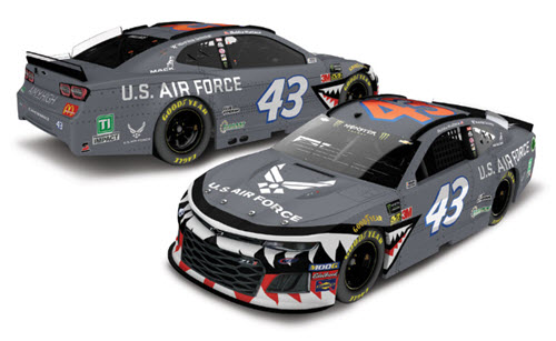 2019 Bubba Wallace NASCAR Diecast 43 Air Force Warthog CWC 1:24 Lionel Action ARC Autographed 98