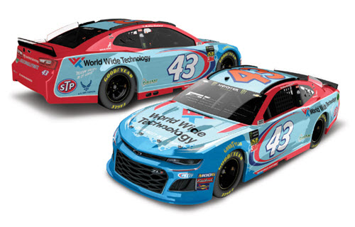 2019 Bubba Wallace NASCAR Diecast 43 World Wide Technology CWC 1:24 Lionel Action ARC Color Chrome 99