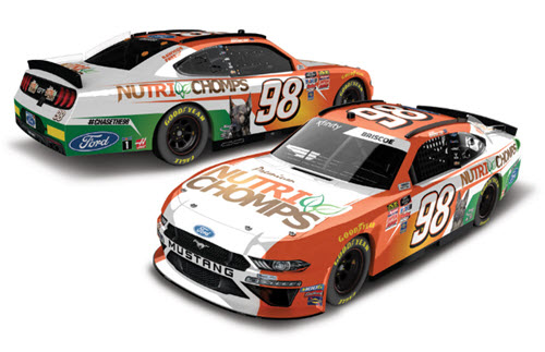 2019 Chase Briscoe NASCAR Diecast 98 Nutri Chomps CWC 1:24 Lionel Action ARC Color Chrome 98