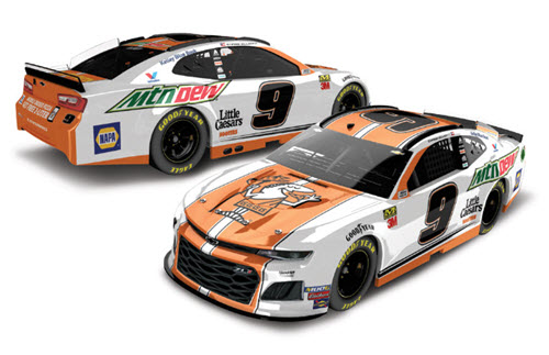 2019 Chase Elliott NASCAR Diecast 9 Little Caesars CWC 1:24 Lionel Action RCCA Elite Color Chrome 99