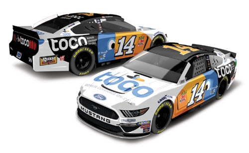 2019 Clint Bowyer NASCAR Diecast 14 Toco Warranty CWC 1:24 Lionel Action ARC Color Chrome 99