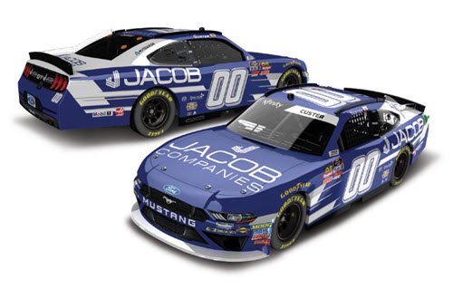 2019 Cole Custer NASCAR Diecast 00 Jacob Companies CWC 1:24 Lionel Action ARC Color Chrome 99