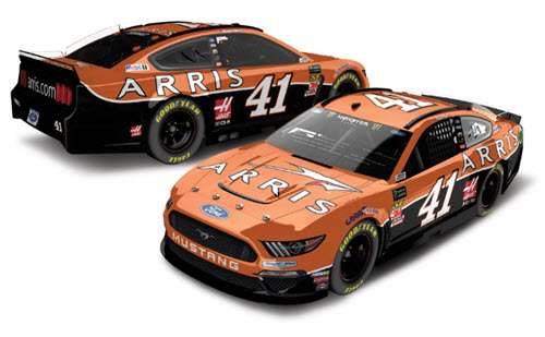 2019 Daniel Suarez NASCAR Diecast 41 Arris CWC 1:24 Lionel Action ARC Color Chrome 99
