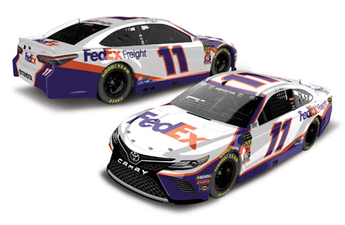 2019 Denny Hamlin NASCAR Diecast 11 FedEx Freight CWC 1:24 Lionel Action ARC Color Chrome 99
