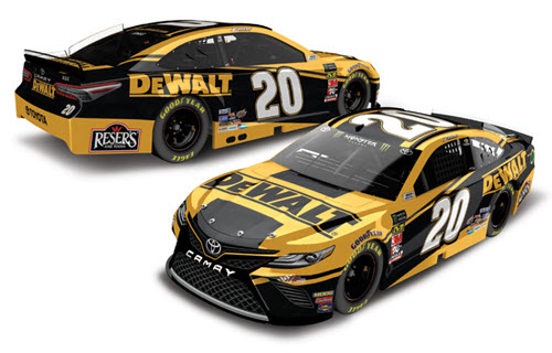 2019 Erik Jones NASCAR Diecast 20 DeWalt Tools CWC 1:24 Lionel Action ARC Color Chrome 99
