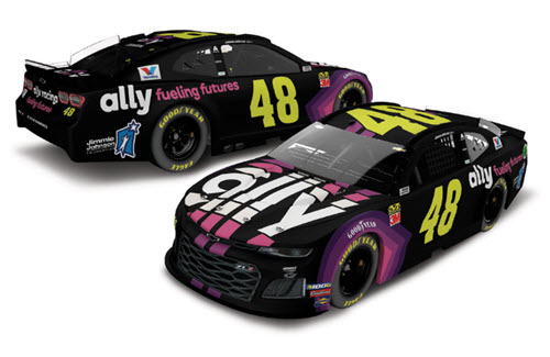 2019 Jimmie Johnson NASCAR Diecast 48 Ally Fueling Futures CWC 1:64 Lionel Action ARC 99