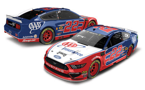 2019 Joey Logano NASCAR Diecast 22 AAA Insurance CWC 1:64 Lionel Action ARC 99