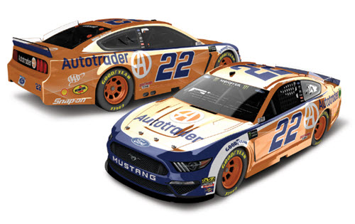 2019 Joey Logano NASCAR Diecast 22 Autotrader Auto Trader CWC 1:24 Lionel Action RCCA Elite Color Chrome 98